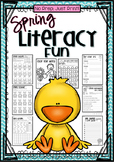 No Prep, Just Print! Spring, Easter and Earth Day Literacy