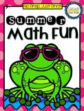 No Prep, Just Print! Summer Review Math Pack Grade 1