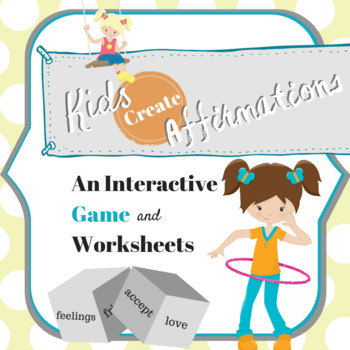 (No Prep) Affirmation Craft and Game