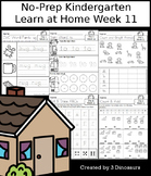 No-Prep Kindergarten Learning At Home Week 11: Distance Learning