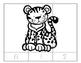 No Prep-Kindergarten Puzzles-  Count, Trace, Color, Cut, a
