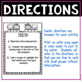 No Prep! LITERACY Centers for February (2nd Grade)