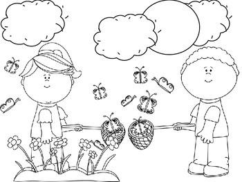 No Prep Language & Artic Activity Bundle for Pinkalicious by E. & V. Kann