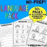 No Prep Language Pack