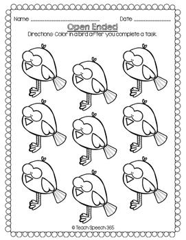 No Prep Language Pack: Birds