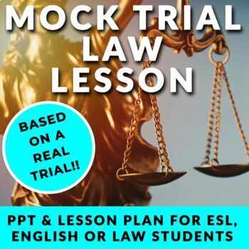 (No Prep) Law Lesson - Mock Trial!