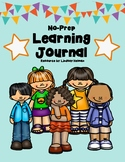 No Prep Learning Journal