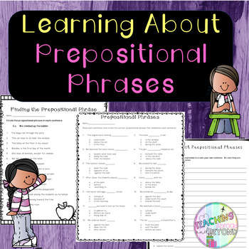 No-Prep - Learning about Prepositions