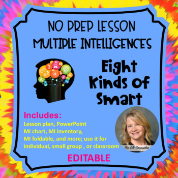 No Prep Lesson on MULTIPLE INTELLIGENCES