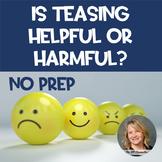 No Prep Teasing Lesson
