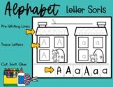 Alphabet Letter Sorts No Prep