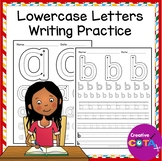 No Prep ABC Tracing Worksheets Writing Practice