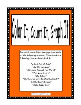 Harcourt Trophies FIRST GRADE (Book 4) Literacy Activity: