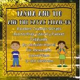 No-Prep Literacy Packet & Readers Theater Script Tasha/Tio Fall Bundle
