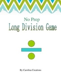 No Prep Long Division Game 4.NBT.B.6