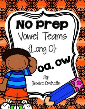 No Prep Long O {oa, ow}