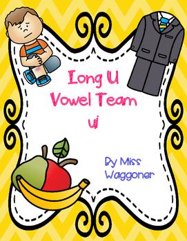 No Prep Long U Vowel Team UI Activities and Printables