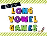 No-Prep Long Vowel Spinner Games