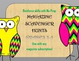 No-Prep Magazine Scavenger Hunts for Grades 3-5