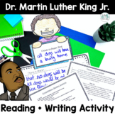 Martin Luther King Jr. Activities | Reading Passages