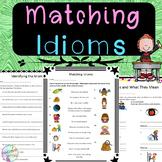 No-Prep - Matching Idioms
