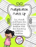 No Prep Matching Multiplication Number Sentences and Addition Sentences
