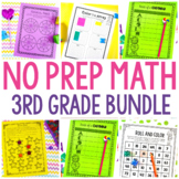 No Prep Math Bundle