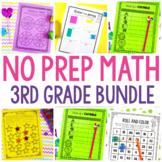 No Prep Math Bundle
