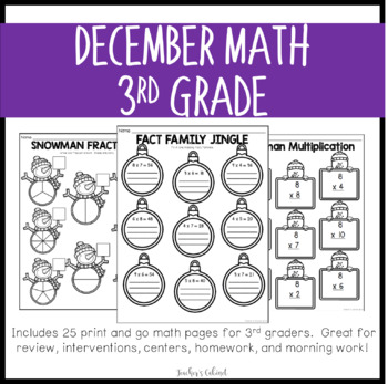 No Prep Math {December}