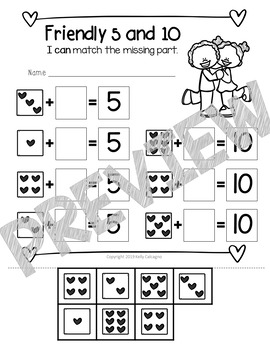 No-Prep Math & ELA - Valentine's Day