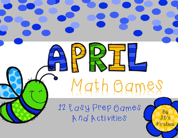 No Prep Math Games - April