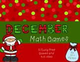 No Prep Math Games - December