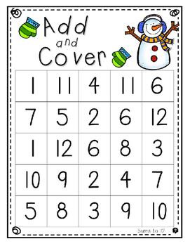 No Prep Math Games - January