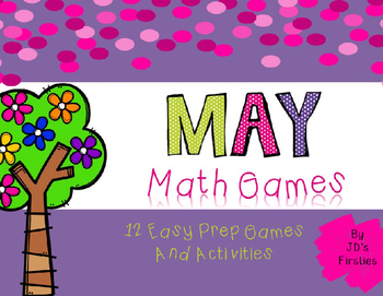 No Prep Math Games - May