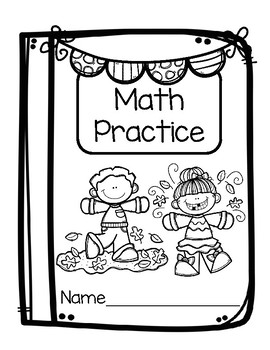 No Prep Math Practice Fall Theme (FREEBIE)