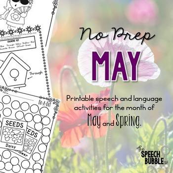 No Prep May and Spring
