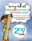 No Prep Measurement Unit 2nd Grade {CCSS}