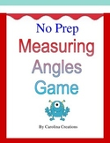 No Prep Measuring Angles Game - Fourth Grade Math 4.MD.C.6