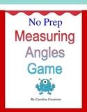 No Prep Measuring Angles Game - Fourth Grade Math 4.MD.C.6