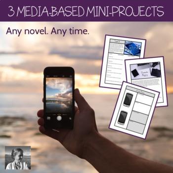 Media Mini-Projects for Any Novel (Radio, Twitter, Blog, Voicemail), ELA