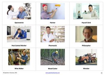 No Prep Mega Bundle: Who, Jobs and Occupations High-Quality Photos