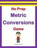 No Prep Metric Conversions Game - 4.MD.A.1