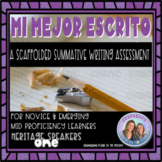 No Prep! Mi Mejor Escrito: A Guided and Independent Writin