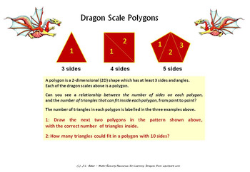 No Prep - Dragon Math and Puzzles Pack