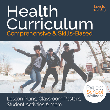 Middle School Health & Wellness Curriculum - No Prep Year Long Lesson Plans