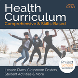 Middle School Health Curriculum - - Health Lesson Plans (Levels 1, 2, and 3)