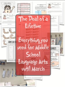 (Super Sale) Figurative Language Mega Bundle (8 Mini Units)