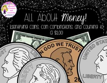 Money! No Prep Worksheets, Centers, and Test! {Confetti an