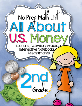 No Prep Money Unit 2nd Grade {CCSS}