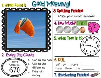 No Prep Morning Work - May